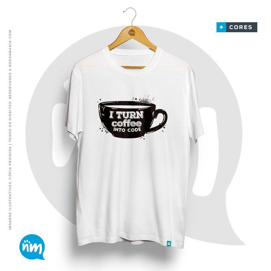 Camiseta de computação