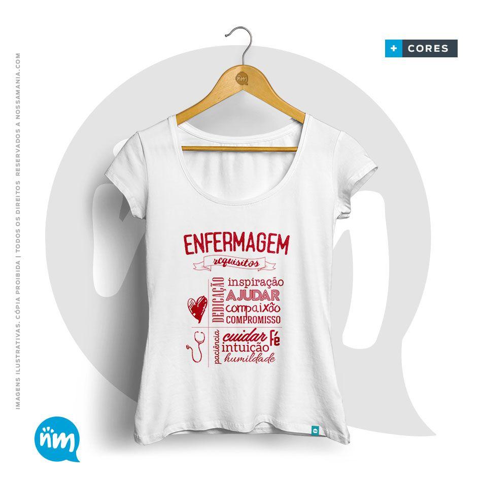 Camiseta de Enfermagem