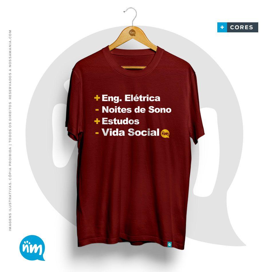 Camiseta de Engenharia Elétrica