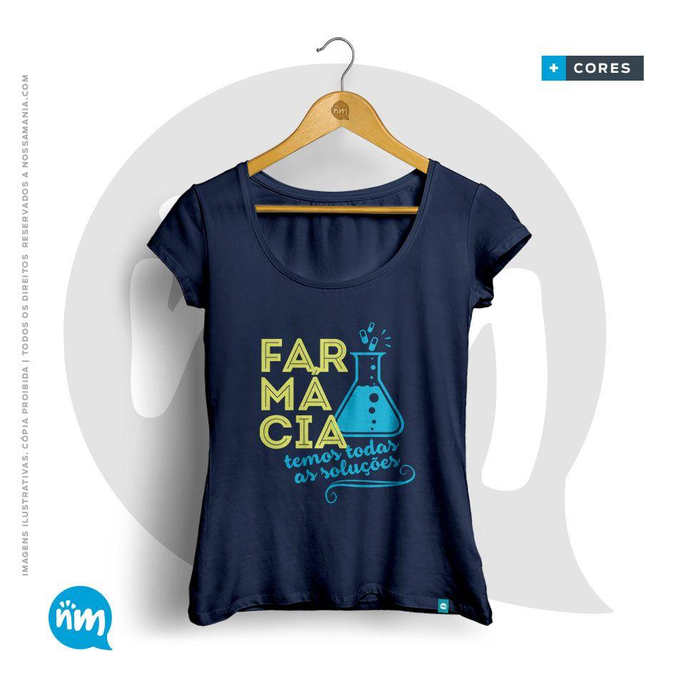 Camiseta de Farmácia