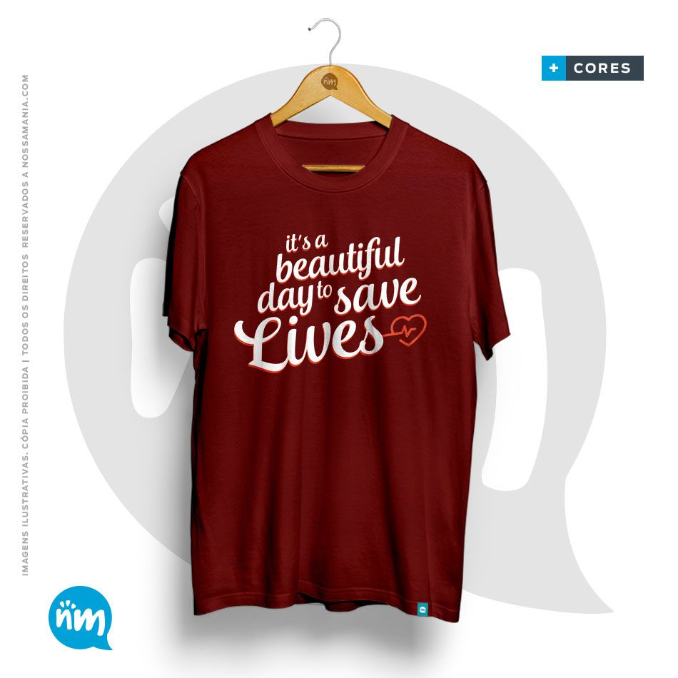 Camiseta de Medicina Grey´s: It's a Beautiful