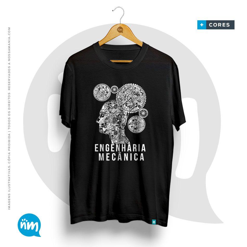 Camiseta Engenharia Mecânica
