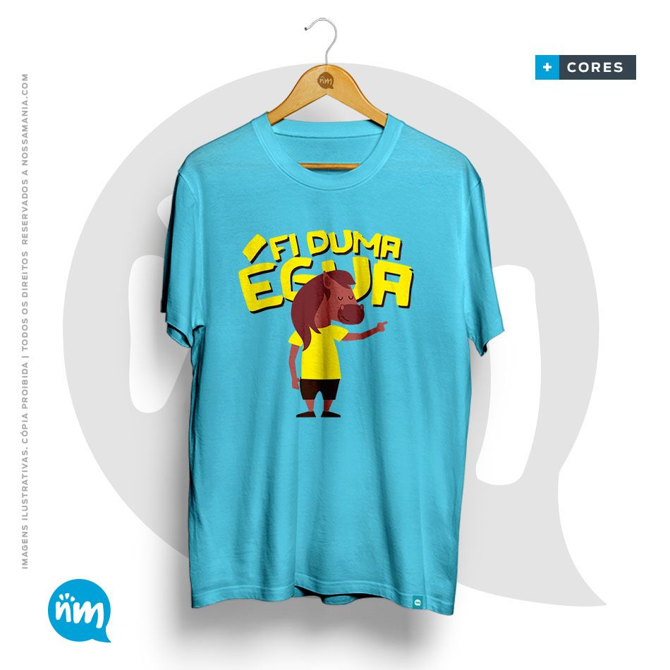 Camiseta Lucas Veloso Fi Duma Égua
