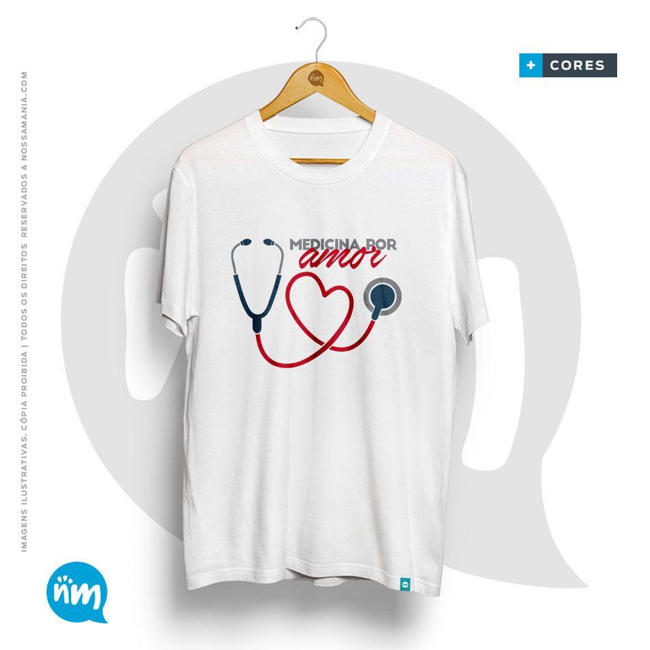 Camiseta Medicina por Amor