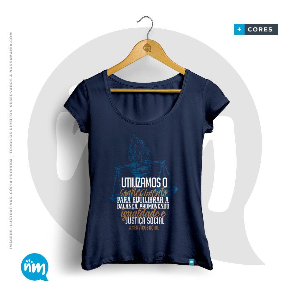 Camiseta Serviço Social
