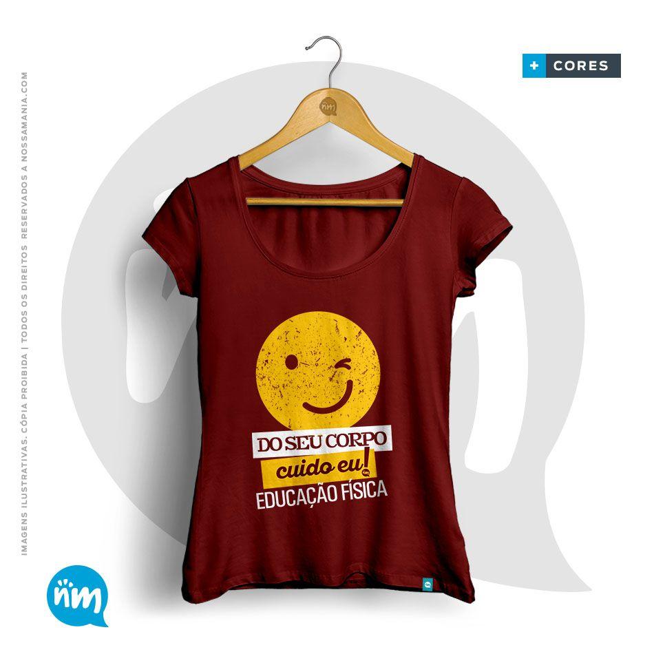 Camiseta Universitária de Ed.Física