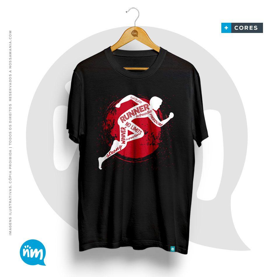 Camiseta Universitária de Educação Física - Runner