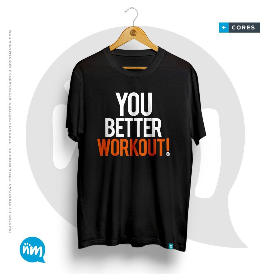 Camiseta Universitária de Educação Física - Your Better Workout