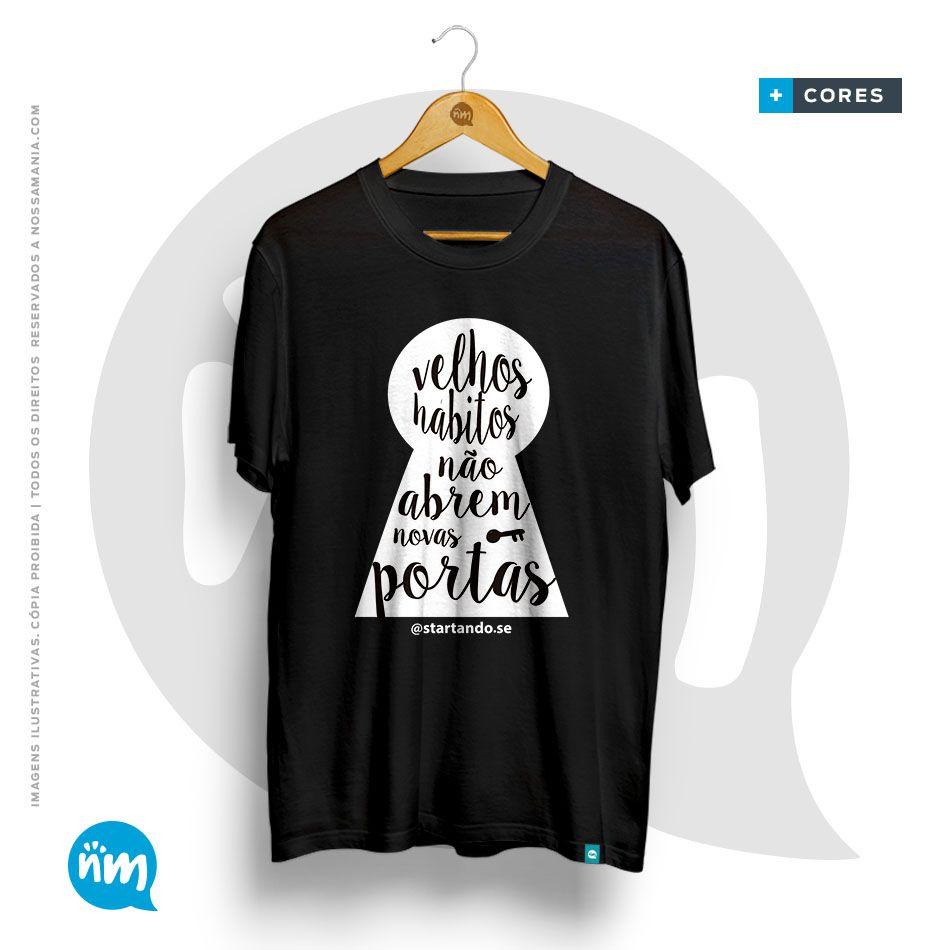 Camisetas Motivacional Hábitos