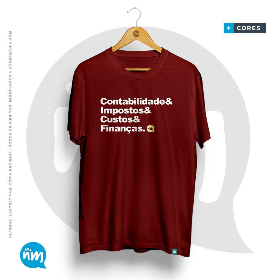 T-shirt de contabilidade