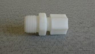 Conector Nylon Rosca 1/2 pol. Mangueira 3/8 pol.