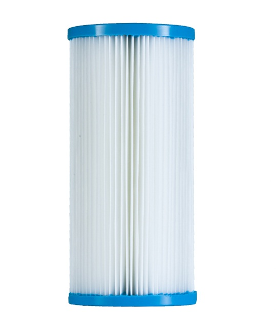 Elemento filtrante plissado 10 x 4.1/2 - 20 micras