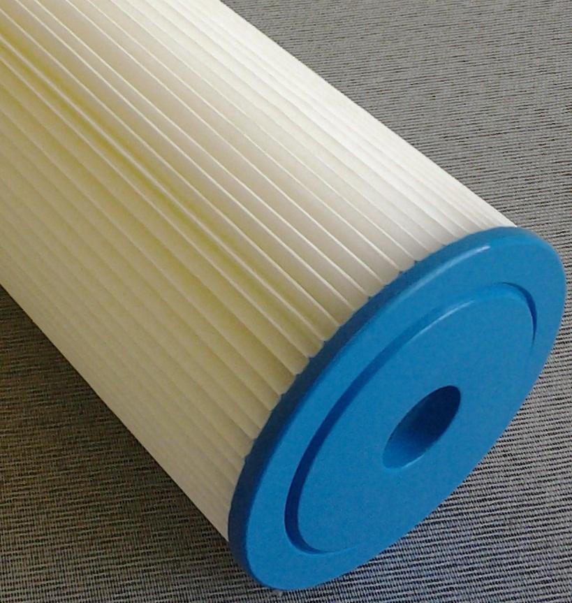 Elemento filtrante plissado 20 x 4.1/2 - 50 micras