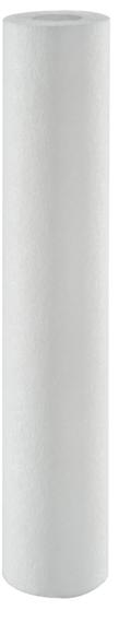 Elemento filtrante polipropileno 20 x 2.1/2 - 0,5 micras
