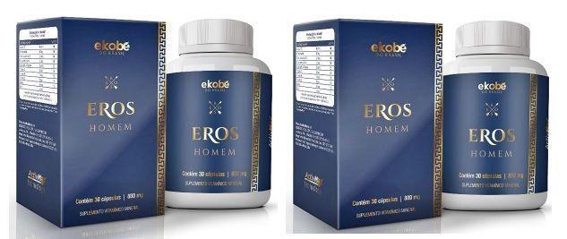 Eros Homem Original 810mg - 2 Potes (60 cáps.)