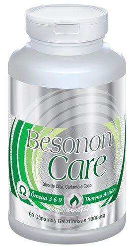 Besonon Care 1000mg - Original - 60 cáps. Chia, Cártamo e Coco