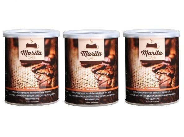 Café Marita 3.0 Original - Super Kit Leve 3 Latas + Brinde