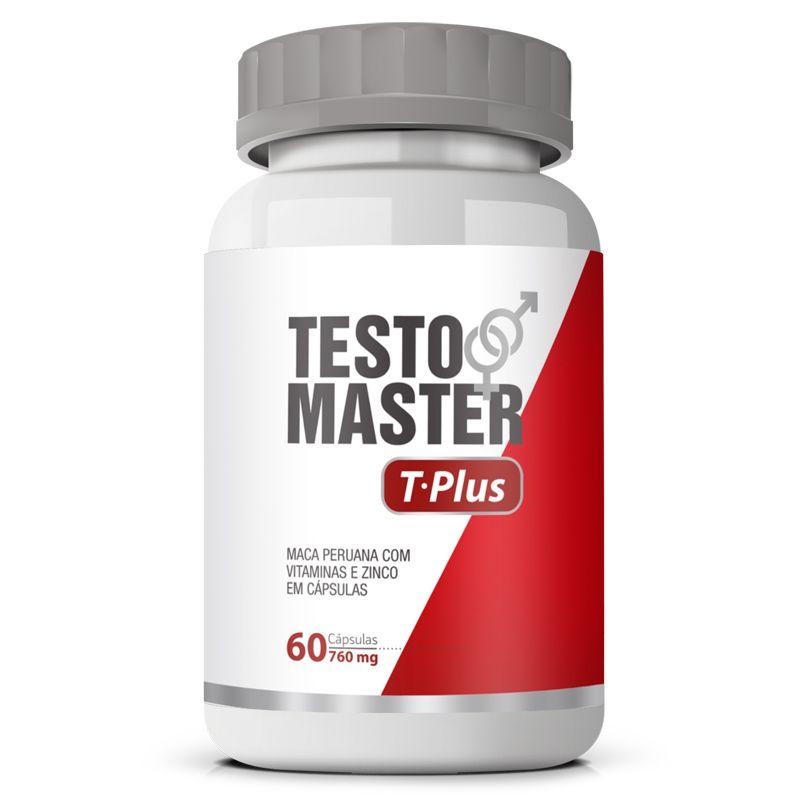 Estimulante Sexual Testomaster T Plus Original 760mg - 60 cápsulas