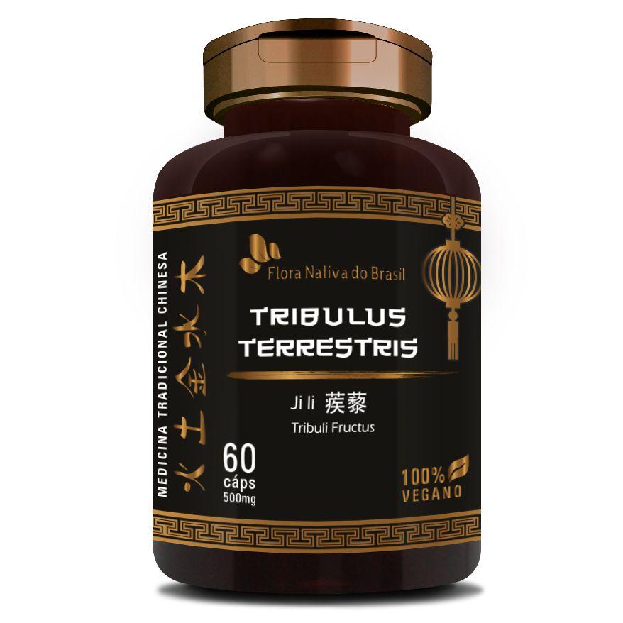 Tribullus Terrestris (Ji Li - Tribuli Fuctrus) - 500mg - 60 cápsulas