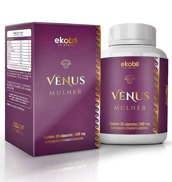 Estimulante Sexual Feminino Vênus Mulher Original 810mg - 1 Pote