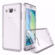 Capa Samsung Galaxy Gran Prime G530 G531 G535  Transparente com Borda Cromada
