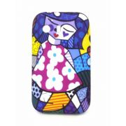Capa Samsung Galaxy Y Flexível Romero Britto