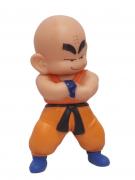 Boneco Kuririn Dragon Ball Articulado 19cm Saga Anime
