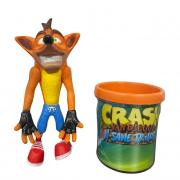 Boneco Crash + Caneca Personalizada Miniatura Jogo