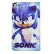 Capa Case Tablet Samsung Galaxy Tab A 8 P290 P295 T290 T295 Magnética Sonic Personagem