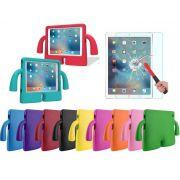 Capa iPad 9.7 A1822 A1823 Infantil Anti Choque Com Película