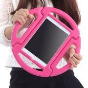 Capa Ipad Mini 1 2 3 Apple Anti Choque Infantil Volante Rosa