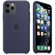 Capa Iphone 11 Pró Max Apple Silicone Logo Oficial - Diversas Cores