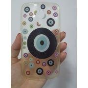 Capa Motorola Moto G2 Flexível Olho Grego 2º Geração Xt1068 Xt1069