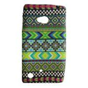 Capa Nokia Lumia N720 Flexível Étnica