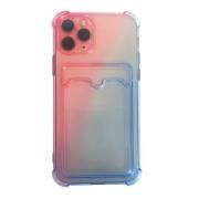 Capa para Iphone 11 Pro Gradiente com Slot para Cartão