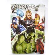 Capa para Tablet 7 Polegadas Ajustável Personagem Heróis Avengers Vingadores