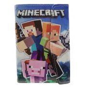 Capa para Tablet 7 Polegadas Ajustável Personagem Infantil Minecraft