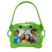 Capa Tablet 7 Suporte Veicular Universal Encosto Carro Infantil Bichinho Verde