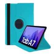 Capa Tablet Samsung Galaxy Tab A7 10.4 T500 T505 Giratória Executiva Rotação Azul Claro
