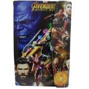 Case Tablet 7 Polegadas Ajustável Personagem Heróis Avengers Vingadores Marvel