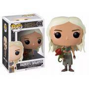Funko Pop Daenerys Targaryen Game Of Thrones - Boneco Colecionável