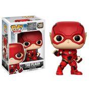 Funko Pop Flash 208 Heróis Liga da Justiça Boneco Colecionável