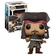 Funko Pop Jack Sparrow Piratas do Caribe Boneco Colecionável