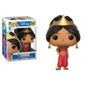 Funko Pop Princesa Jasmine 354 Aladdin Disney Boneco Colecionável