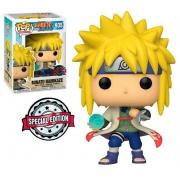 Funko Pop Naruto Shippuden Minato Namikaze 935 Boneco Colecionável Selo Edição Especial