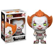 Funko Pop Pennywise with Boat Movies Boneco Colecionável