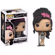 Funko Pop Rocks Amy Winehouse 48 Boneco Colecionável