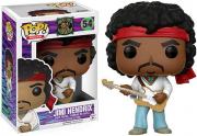 Funko Pop Rocks Jimi Hendrix - Woodstock 54 Boneco Colecionável