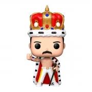 Funko Pop Rocks Queen Freddie Mercury King 184 Boneco Colecionável