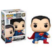 Funko Pop Superman 207 Liga da Justiça Boneco Colecionável